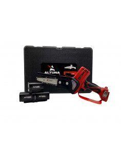 Mini motosierra a batería 24V 10cm con 3 baterías y maletín Altuna AB100-MS ALTUNA - 1