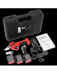 Tijeras de poda a batería 32mm con 3 baterías y maletín Bellota EPR132P