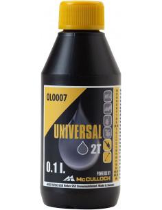 Bote Aceite de 2 Tiempos Calidad Premium 0,1L McCulloch OLO007 MCCULLOCH - 1