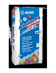 Saco Cemento Cola Adesilex P9 Express 20kg Blanco MAPEI - 1