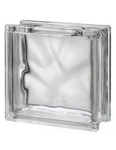 Bloque de vidrio Clear Wave...