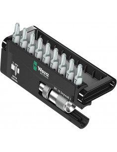 Juego de puntas con Porta-puntas con tope de profundidad ajustable 10 piezas Wera 136011 WERA - 1