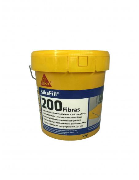 Impermeabilizante elástico Sikafill-200 Fibras