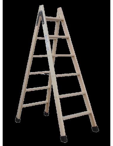 Escalera Madera de Tijera Svelt