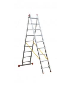 Escalera transformable aluminio 2 tramos OK2 Svelt
