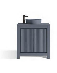 Mueble de Baño VEGA + Encimera 80 COLORS + Lavabo 40 Colors Avio VisoBath VISOBATH - 1