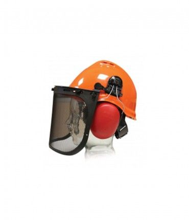 KIT FORESTAL (CASCO+JUMBO+SOPORTE+PANTALLA+PROTECTOR AUDITIVO JAR