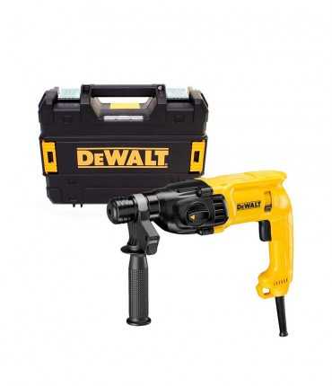 MARTILLO LIGERO DEWALT D25033 K –SDS- PLUS 3 MODOS 710 W 22MM CON MALETIN