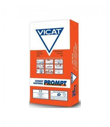 Saco cemento rápido gris Prompt Vicat