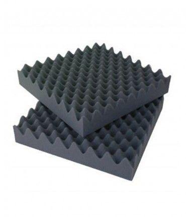 Kit Placas Acústicas ChovACUSTIC Deco Autoadhesiva Piramide 450x450x43mm Chova