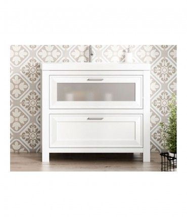 Mueble + Lavabo Trento 60cm blanco VISOBATH