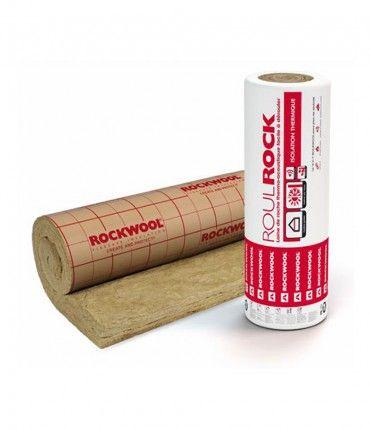 Rollo Lana de Roca Roulrock Kraft 600x120x8cm Rockwool