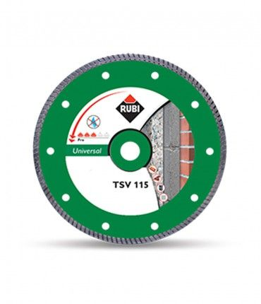 Disco diamante TURBO TSV-115x1,4mm Rubi