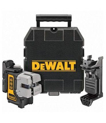 Nivel láser autonivelante multilínea Dewalt DW089K - 10 m