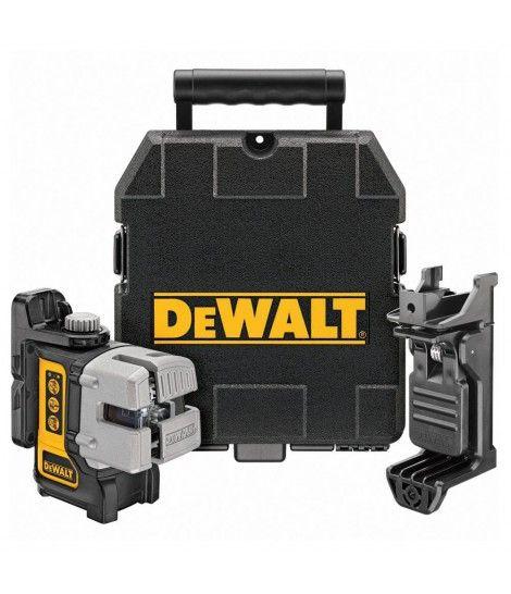 Nivel láser autonivelante multilínea Dewalt DW089KD - 10 m con detector