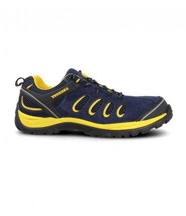 Zapato de Seguridad Paredes Radio Azul Marino-Amarillo SP5108