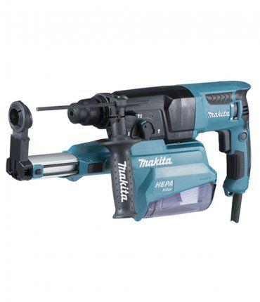 Martillo Ligero 800W 26mm con Aspirador Makita HR2650J