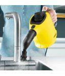 La limpiadora de vapor manual compacta Karcher SC 1