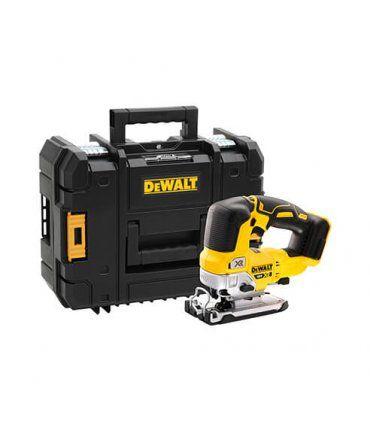 Caladora a batería Dewalt sin escobillas XR 18V 135mm con maletín sin batería DCS334NT