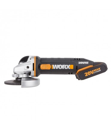 Amoladora Worx WX800 - 20 V 115 mm