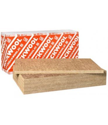 Pack 10 Unidades Panel Lana de Roca Alpharock-E-225 4cm Rockwool