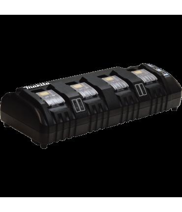 Cargador Makita 4 Puertos LXT® Litio‑Ion 18V DC18SF
