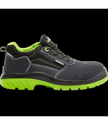 Zapato de Seguridad de serraje libres de metal Bellota 72310 S1P