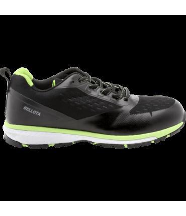 Zapato de Seguridad run de diseño deportivo transpirables Bellota 72224N S1P