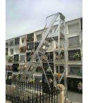 Escalera de apoyo aluminio 1 tramo OK1 Svelt