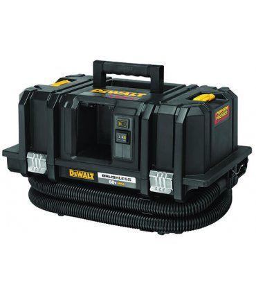 Aspirador 54V XR Flexvolt Clase M Dewalt + 2 baterías 6.0Ah y cargador DCV586MT2