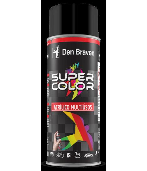 Bote spray Pintura Acrílica Multiusos Supercolor 400ml Den Braven