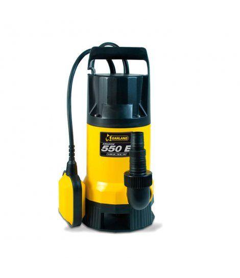 Bomba de aguas Sucias Garland AMAZON 550 E-V14 - 750W 13.000 l/h
