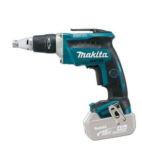 Atornillador para Pladur Makita 18V 2 baterías 4.0Ah y maletín DFS452RME