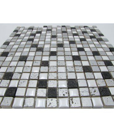 Malla de Gresite Decorativo 30X30cm Damasco
