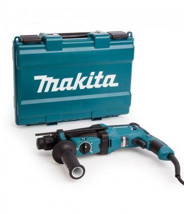 Martillo ligero Makita HR2630 SDS-plus 3 modos - 800 W 26 mm con maletín