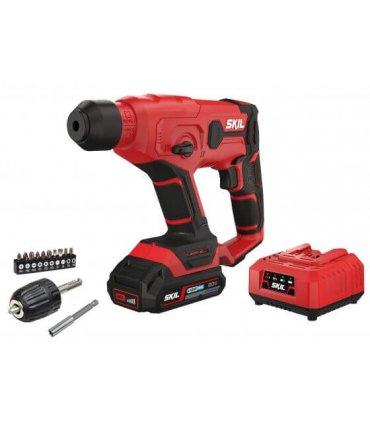 Martillo, taladro, atornillador 3 en 1 a batería 20V Skil 3810 CA