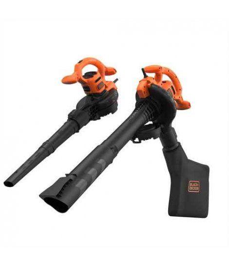 Aspirador soplador triturador 2800W Black+Decker BEBLV260