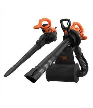 Aspirador soplador triturador 2900W Black+Decker BEBLV290