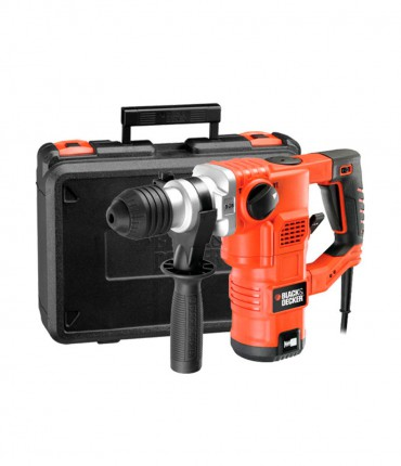 Martillo Black+Decker KD1250 - SDS-Plus 1.250 W 3,5 J con maletín