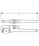 Llave grifa 350mm Expert E117822