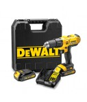Taladro percutor Dewalt DCD776C2 – XR 18 V 2 bat. 1,3 Ah con maletín