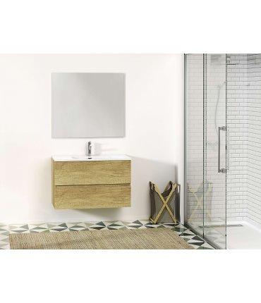 Mueble a Pared apertura uñero + Lavabo Ana de Waterbath