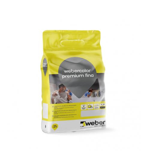 Pasta de Juntas webercolor premium fina Weber