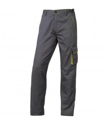 Pantalón de Trabajo largo Gris y Verde M6PANGR Delta Plus