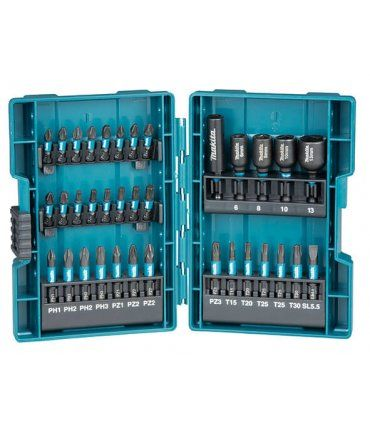 Estuche de vasos y puntas 35 piezas Makita B-66880