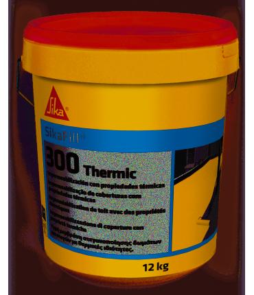 Impermeabilizante elástico con propiedades térmicas Sikafill-300 Thermic 12kg