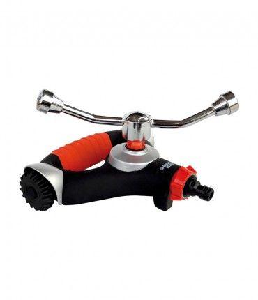 Aspersor de 2 brazos con ruedas Black+Decker