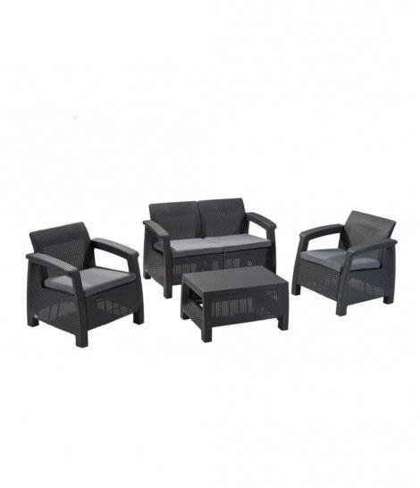 Set de muebles para terraza Corfu para 4 personas Curver