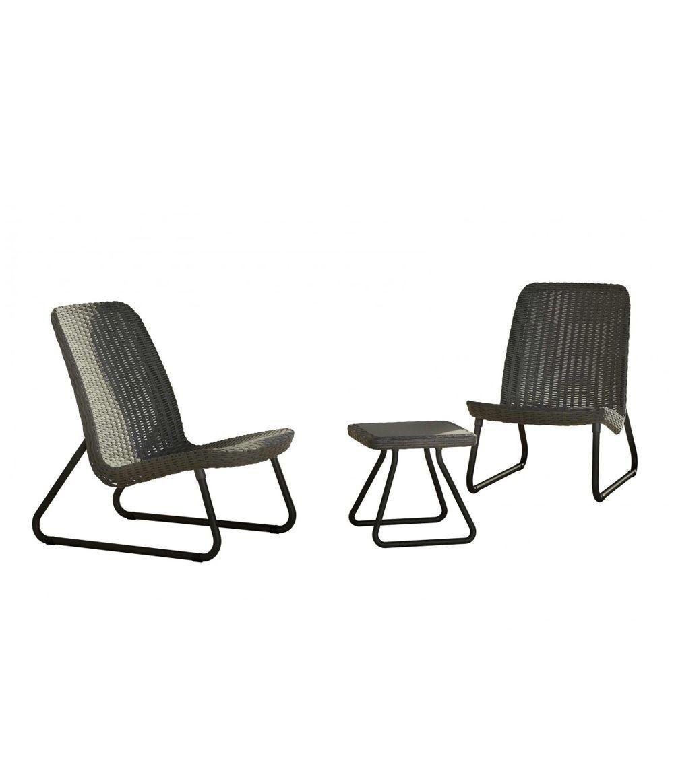 Set De Muebles Para Terraza O Balc N R O 3 Piezas Curver # Muebles Pago Sequra