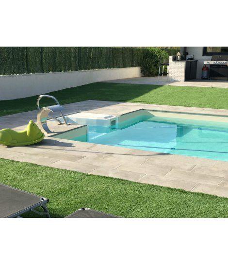 Kit de montaje para piscina modelo Escalera Recta Mi Piscina